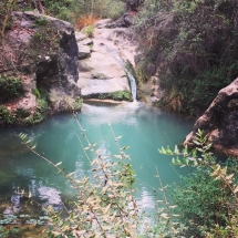 Foix water falling